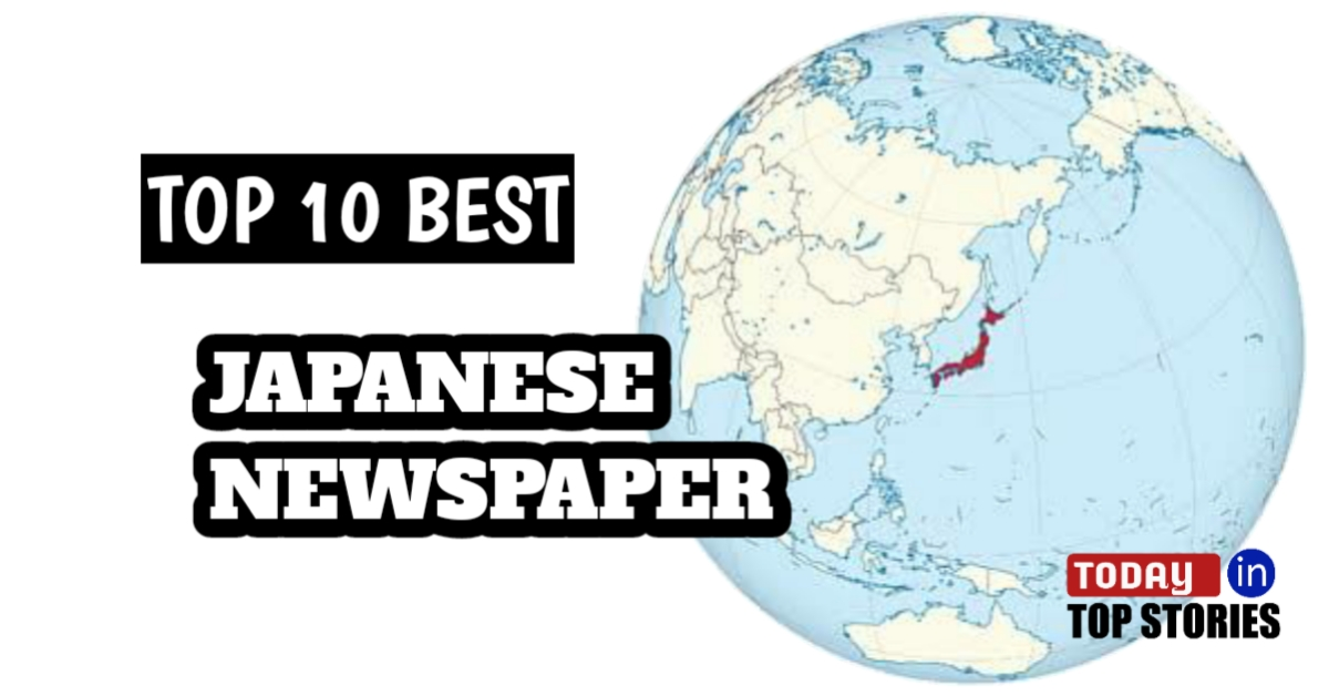 Top 10 Best Japanese Newspapers Online Japanese Newspapers In English Top Stories Today